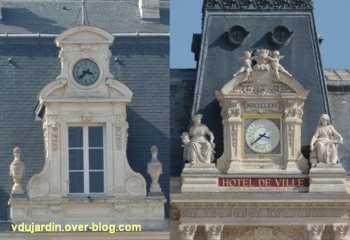 Défi photo horloges poitevines, 1, préfecture et hôtel de ville
