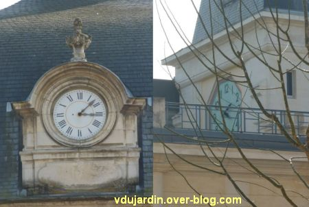 Défi photo horloges poitevines, 6, collège Henri IV et lycée Victor-Hugo