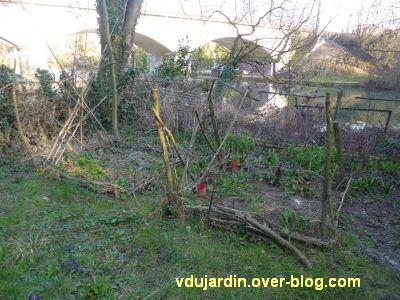Mon jardin le 14 mars 2012, 1, les carrés