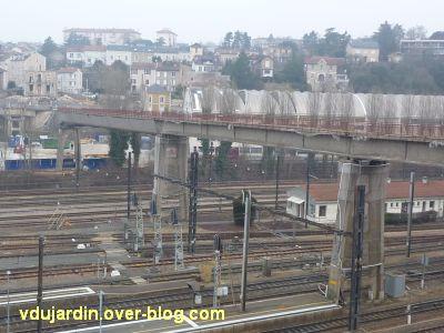 Poitiers, démontage de la grande passerelle, semaine 9, 10, ce qui reste pour mai...