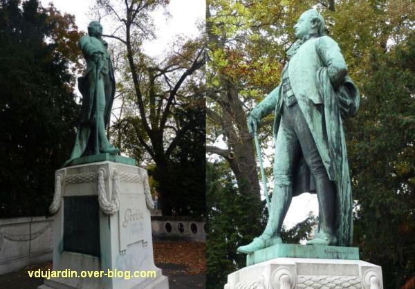 Le monument Goethe à Strasbourg, 2, Goethe