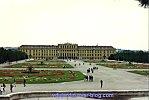 Le château de Schönbrünn à Vienne en Autriche en 1993, 2, de plus près