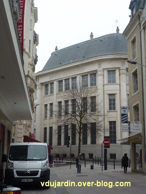 Poste d'Angers, façade rue Saint-Julien, 1, la façade