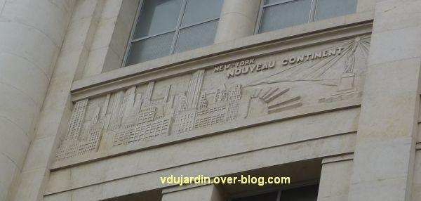 Poste d'Angers, façade rue Saint-Julien, 5, New-York