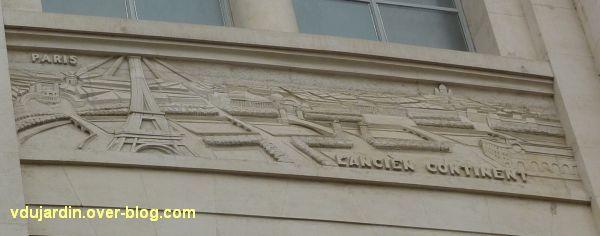 Poste d'Angers, façade rue Saint-Julien, 6, l'Ancien monde