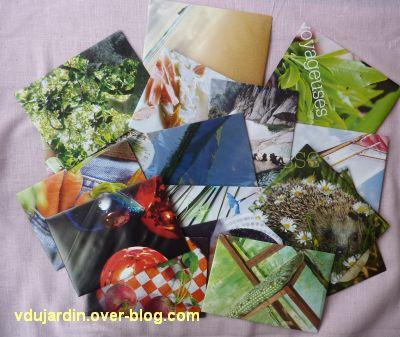Des enveloppes avec de la récupération de revues