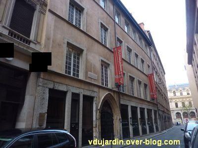 Façade du musée de l'imprimerie à Lyon