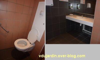 Poitiers, ville inaccessible au handicap, 13, WC handicapé de la médiathèque