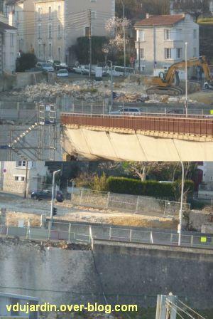Poitiers, avril 2012, 09, démolition de la maison Rolland