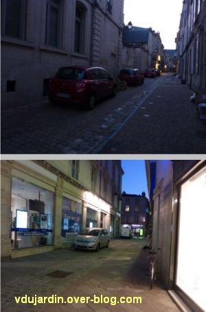 Poitiers, avril 2012, 12, voitures mal garées dans les rues piétonnes