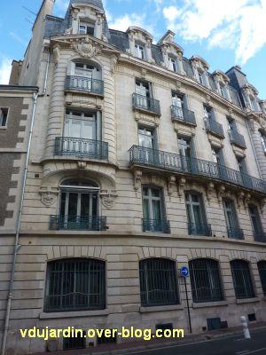 Poitiers, la banque de France, 2, rue Oudin