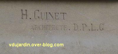 Poitiers, la banque de France, 3, signature