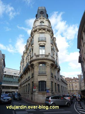 Poitiers, la banque de France, 4, angle des rues Oudin et de l'Eperon