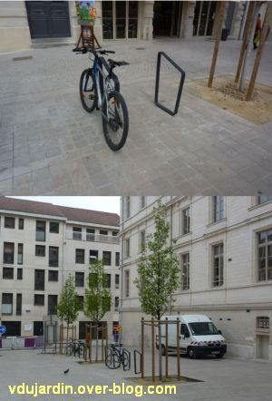 Le nouveau mobilier urbain de Poitiers, mars 2012, 08, les nouvelles attaches à vélo