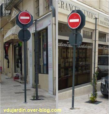 Le nouveau mobilier urbain de Poitiers, mars 2012, 10, trucs pour faire grimper les plantes