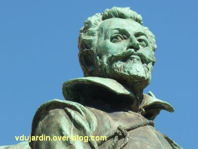 Monument à Jean Guiton à La Rochelle, 08, le visage de Jean Guiton
