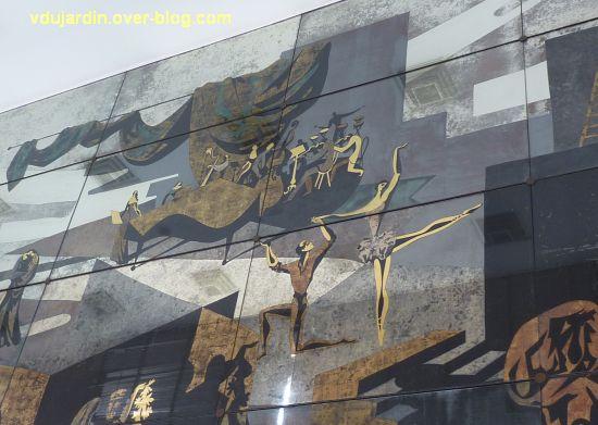 Miroir de l'ancien théâtre de Poitiers, 11, chant, musique et danse