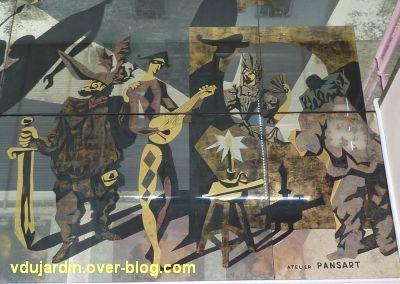 Miroir de l'ancien théâtre de Poitiers, 17, la comédie italienne