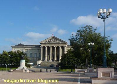Angers, palais de justice, 1, la façade