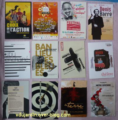Capucine en avril 2012, 02, cartes à publicité