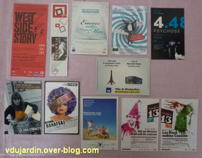 Capucine en avril 2012, 04, cartes à publicité