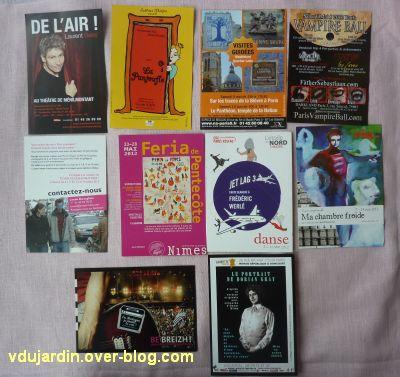 Capucine en avril 2012, 05, cartes à publicité