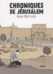Couverture de Chroniques de Jérusalem de Guy Delisle