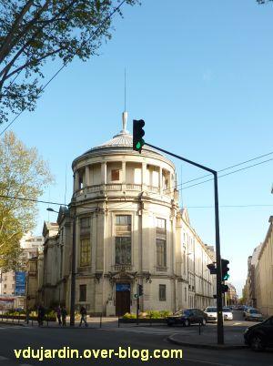 Façade du musée Guimet de Lyon