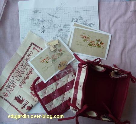 Les cadeaux en retour de Nans, concours 2012