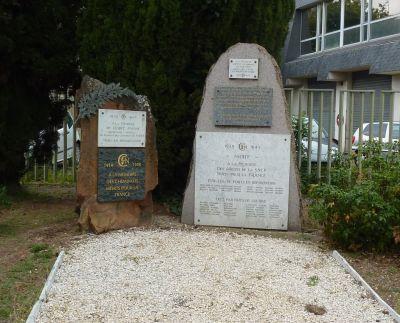 Niort, les monuments à la résistance, 6, le monument de la gare
