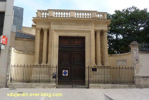 Poitiers, portail des Augustins, 1, après restauration