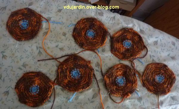 Une tortue au tricot : les sept écailles