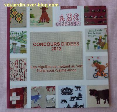 Le livre du concours de Nans en 2012, couverture