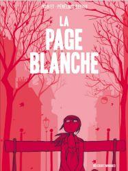 Couverture de La page blanche de Boulet et Pénélope Bagieu