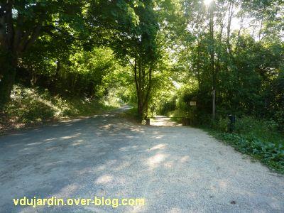 Poitiers, chemin du tram, 3, les deux chemins