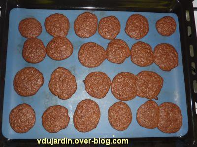 Cookies tout chocolat, la deuxième fournée