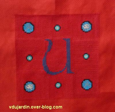 le U et le N pour l'oriflamme de Kutzenhausen, 3, terminé