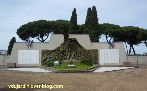 Monument aux morts de Skikda/Philippeville à Toulouse, 1, vue générale
