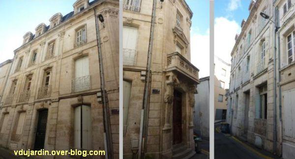 Niort, maison de la peste, 1, les façades
