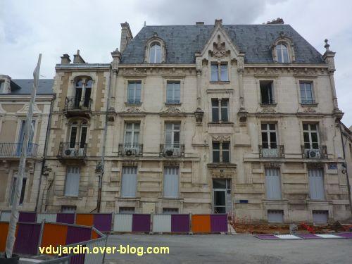 Poitiers, 3 rue Victor Hugo, 1, façade rue Victor Hugo