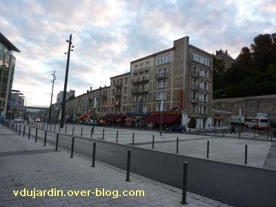 Poitiers, les hôtels de la gare en 2010, 1, bd du Grand Cerf