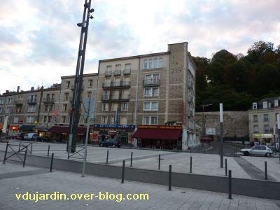 Poitiers, les hôtels de la gare en 2010, 2, bd du Grand Cerf