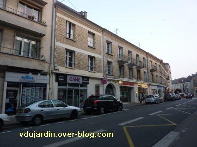 Poitiers, immeubles de la reconstruction rue Gaston Hulin