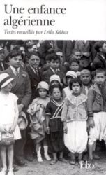 Couverture de Une enfance algérienne, autour de Leïla Sebbar