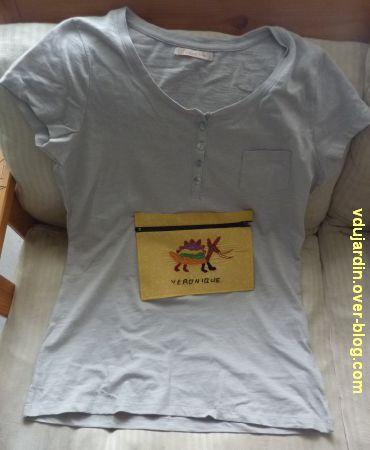 Un t-shirt pour Zazimuth avec un dragon