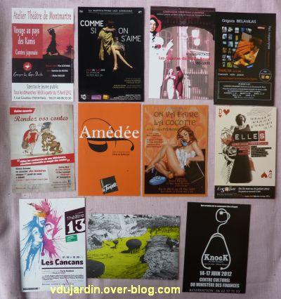 Capucine en mai-juin 2012, 4, cartes à publicité