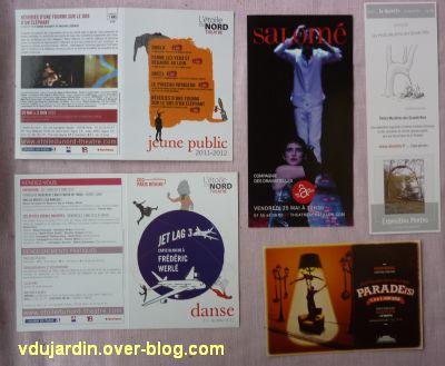 Capucine en mai-juin 2012, 5, cartes à publicité