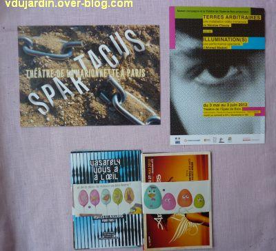 Capucine en mai-juin 2012, 2, cartes à publicité