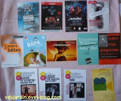 Capucine en mai-juin 2012, 3, cartes à publicité