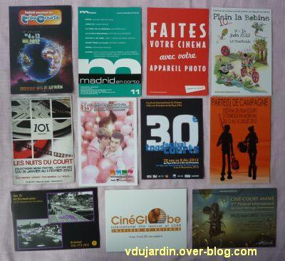Cartes à publicité reçues de Flo en 2012, 1
